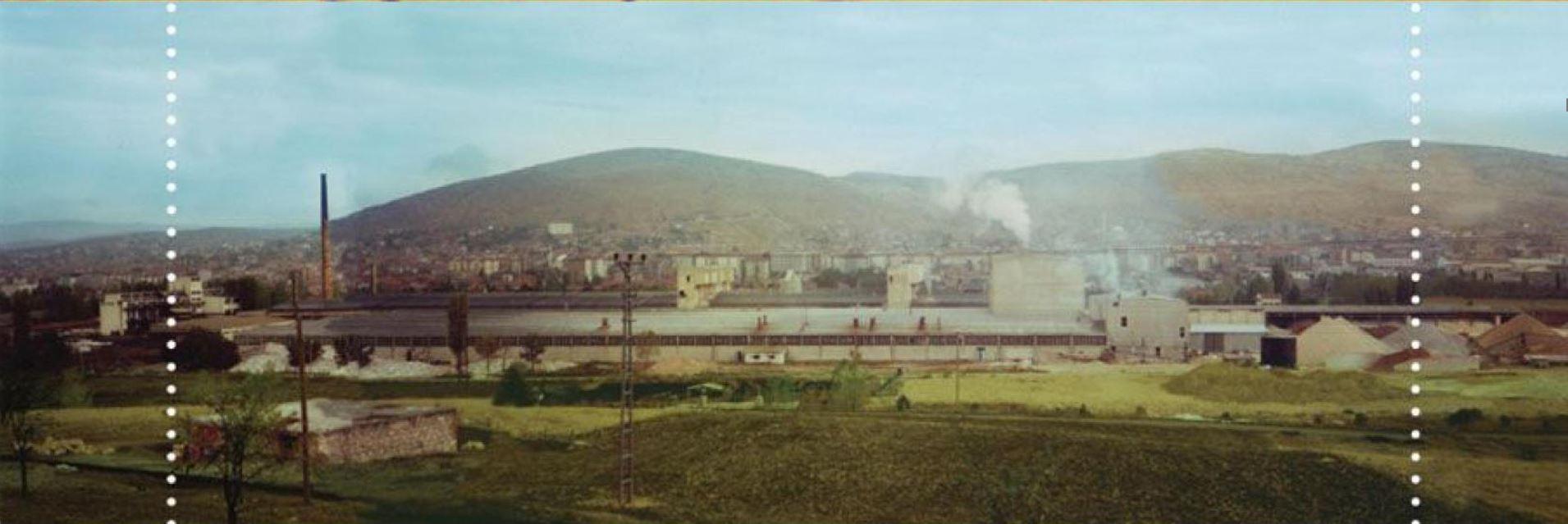 Bozüyük Seramik Fabrikası İnşaatı