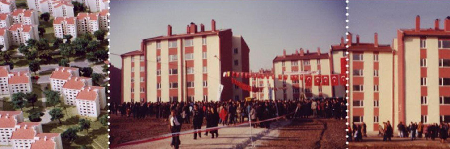 Devlet Bakanlığı Eskişehir Göçmen Konutları İnşaatı