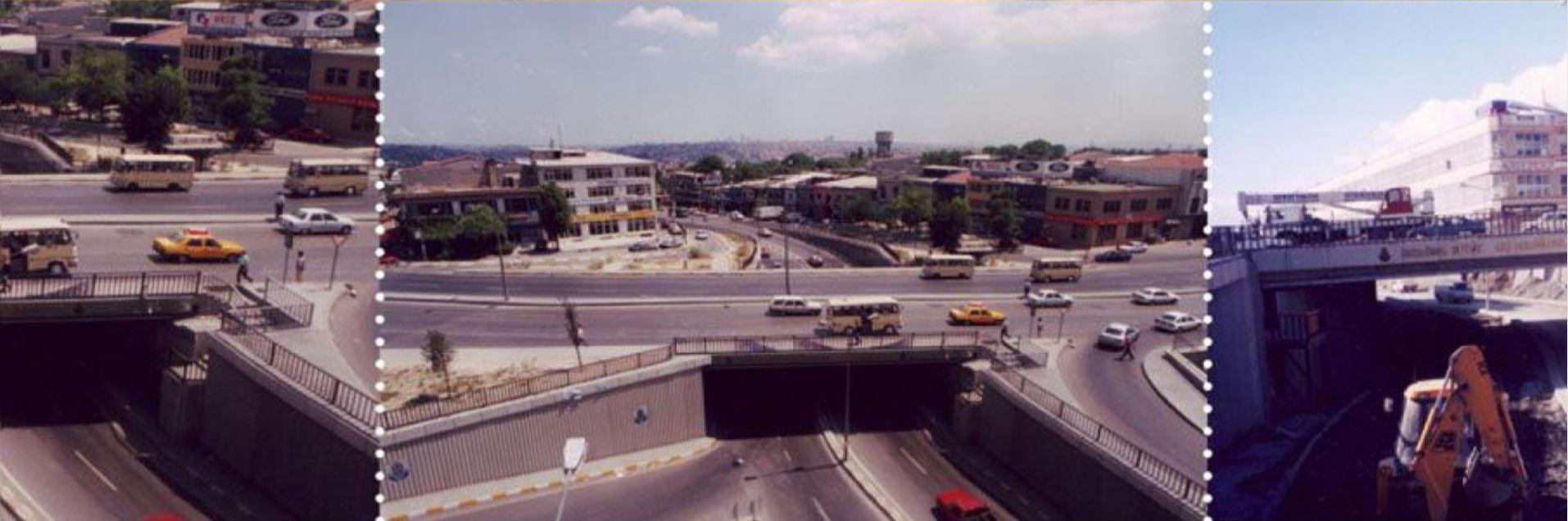 İstanbul-Eyüp Demirkapı Köprülü Kavşak İnşaatı
