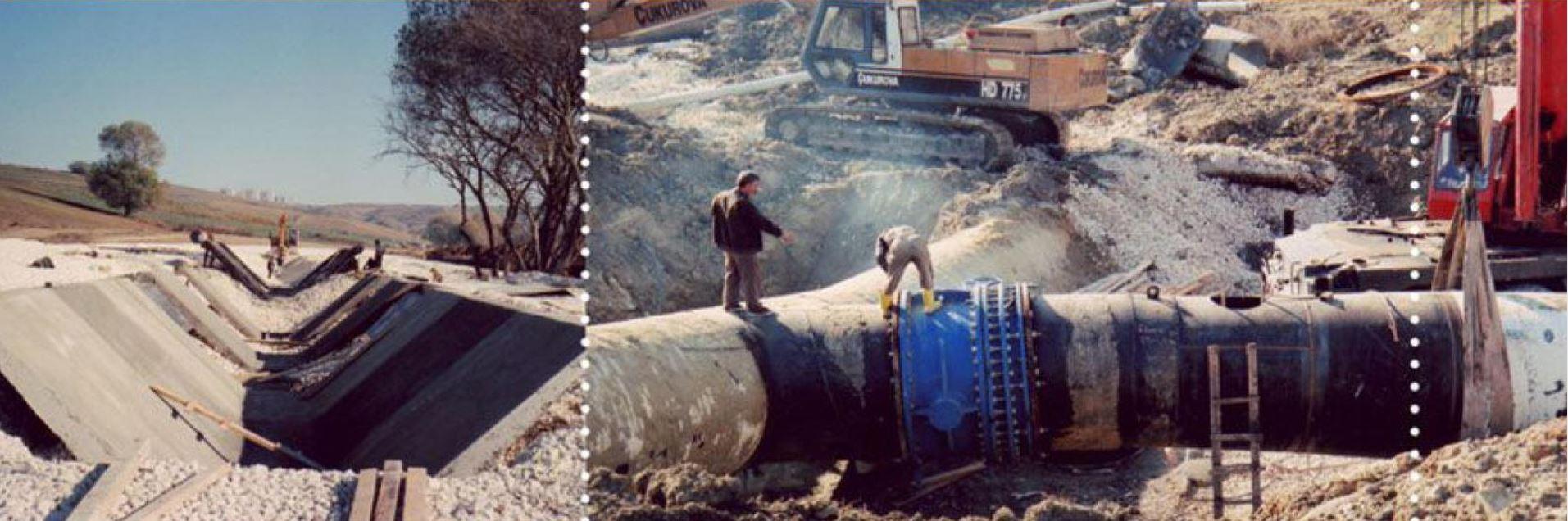 Büyükçekmece 2000 İsale Hattı İnşaatı