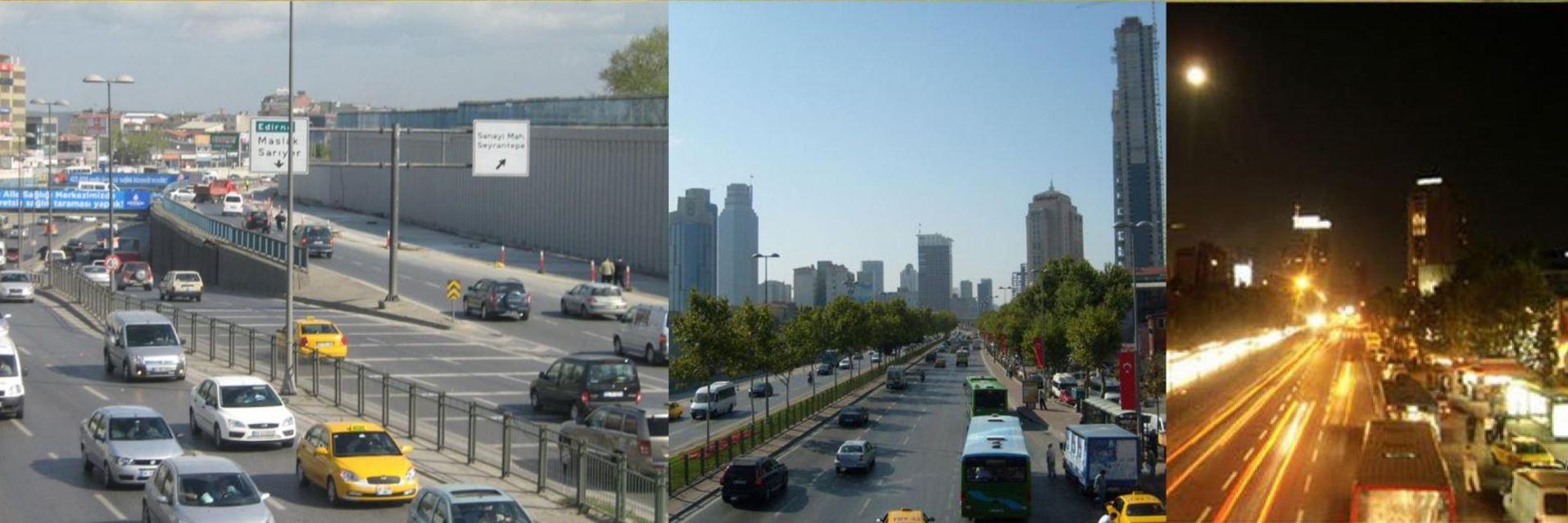 İstanbul Levent-Sanayi Kavşağı İnşaatı