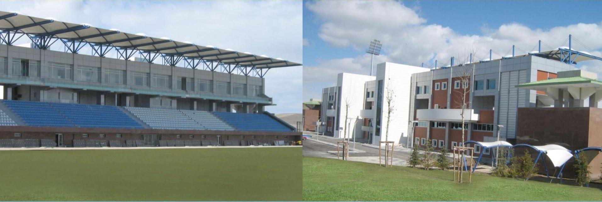 Ankara Saray Stadyum Kompleksi İnşaatı