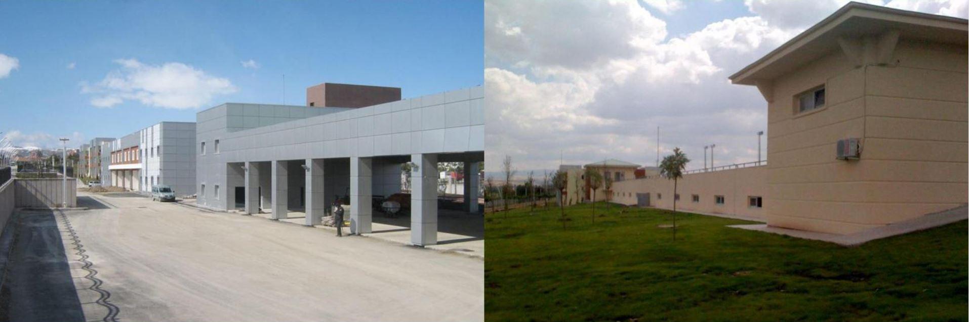 Ankara Saray Stadyum Kompleksi Servis Binaları İnşaatı