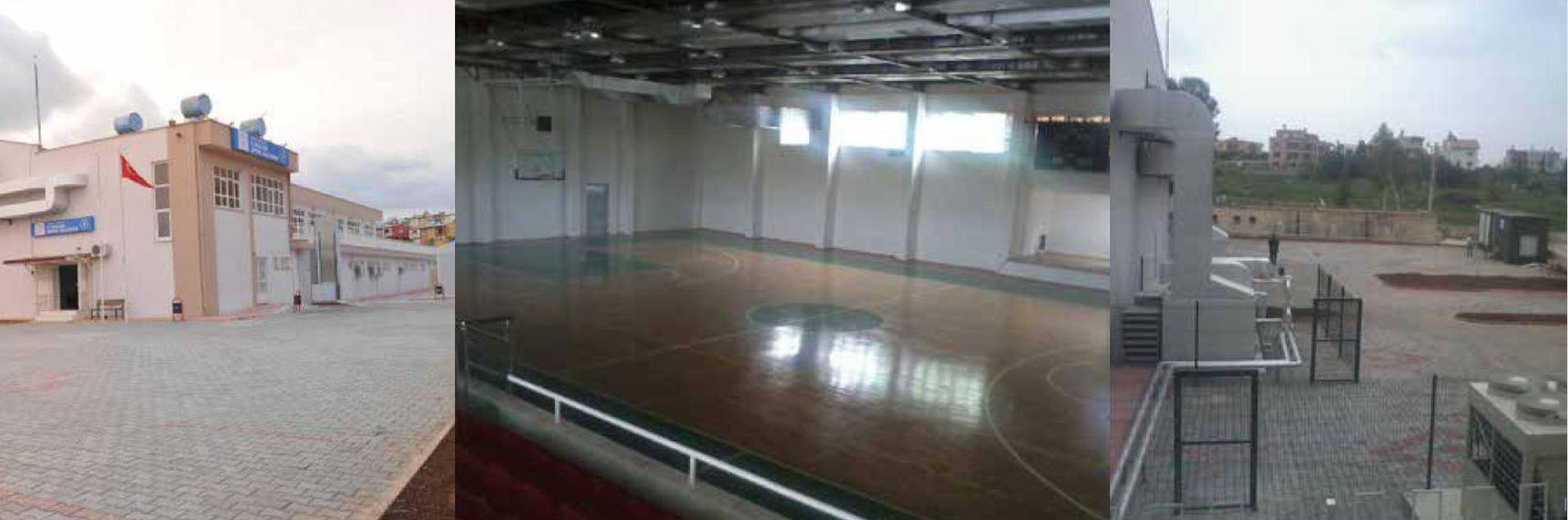 7.Bölge Spor Salonu İnşaatı