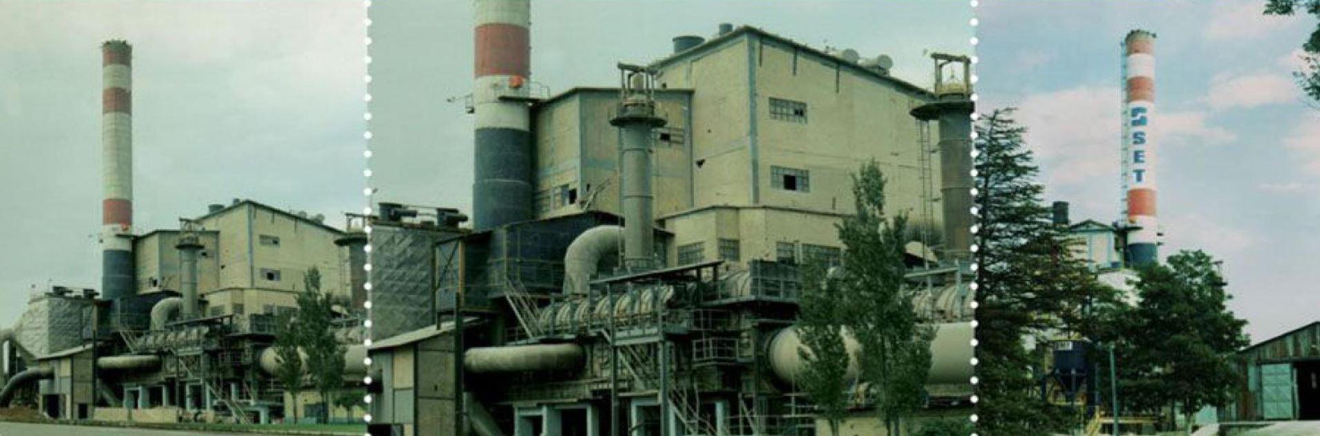 Afyon Çimento Fabrikası İnşaatı
