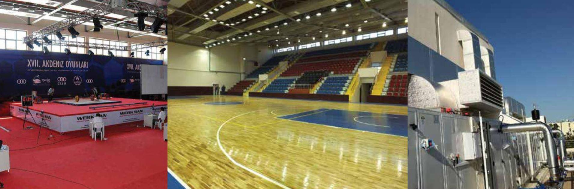 Erdemli Spor Salonu İnşaatı