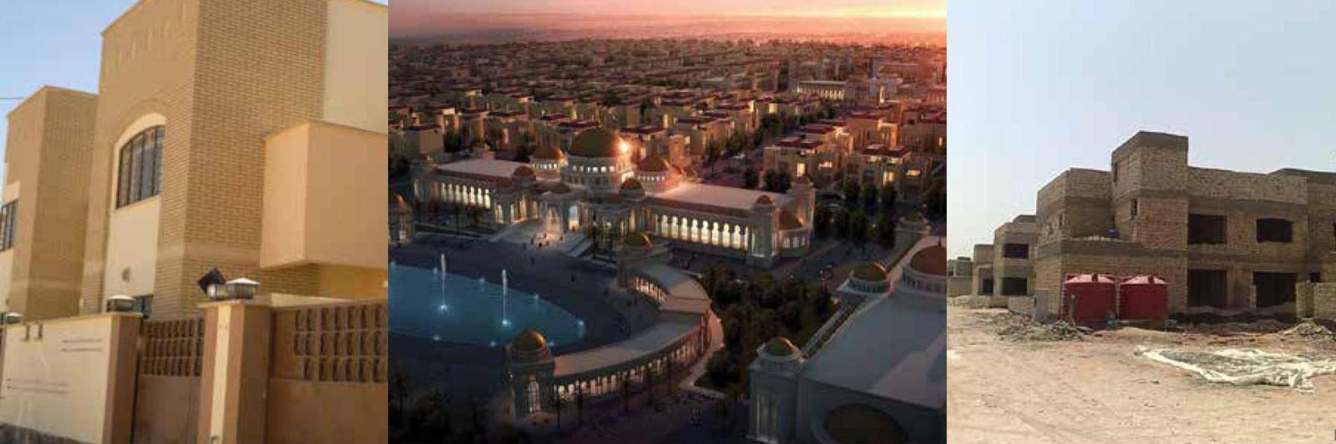 Necef Bilim Şehri 110 Adet Villa İnşaatı