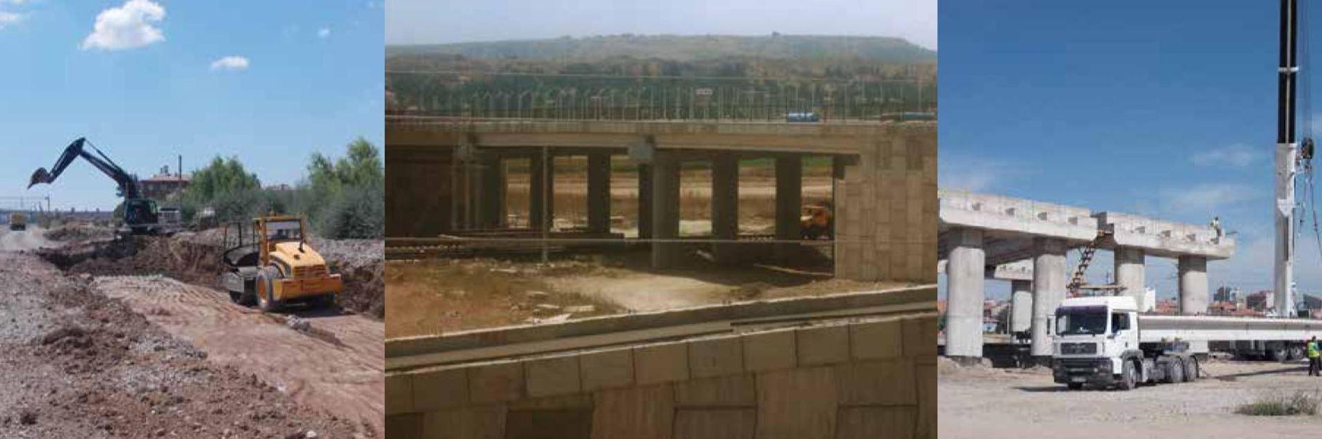 Ankara-İstanbul Yüksek Hızlı Tren Projesi Ulusal Egemenlik Köprüsü ve Hızlı Tren Güzergah İnşaatı