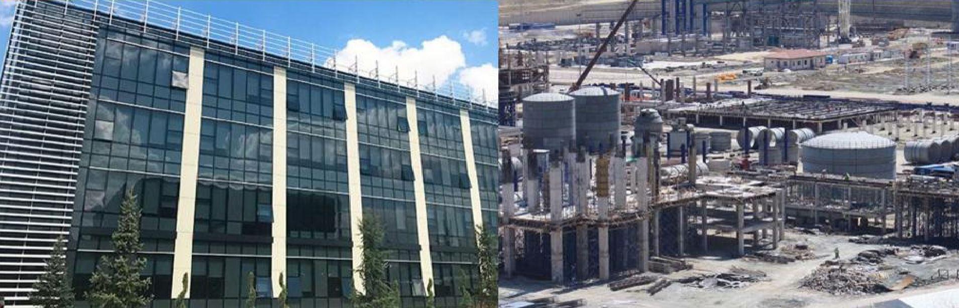 Kazan Soda Külü Tesisleri İdari ve Labaratuar Binaları İnşaatı