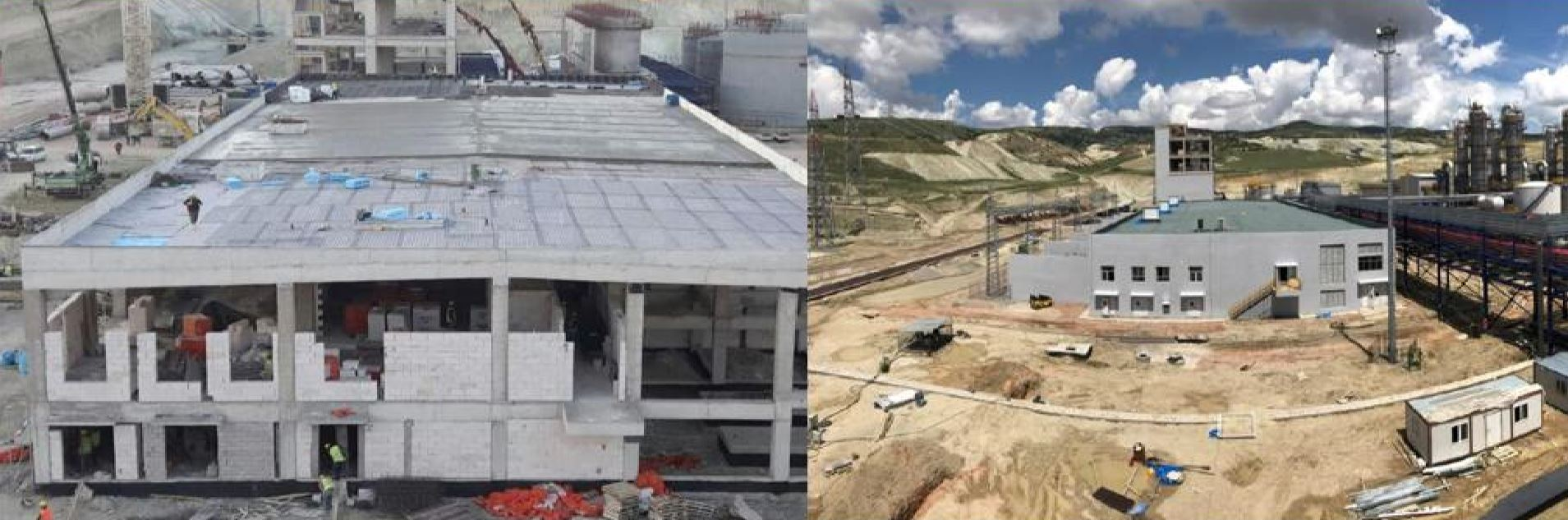 Kazan Soda Külü Tesisleri Trafo & Enerji Tesisi İnşaatı